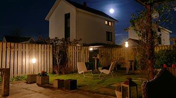 Solaris lighting cand labre lampadaire et clairage solaire autonome for Eclairage jardin autonome