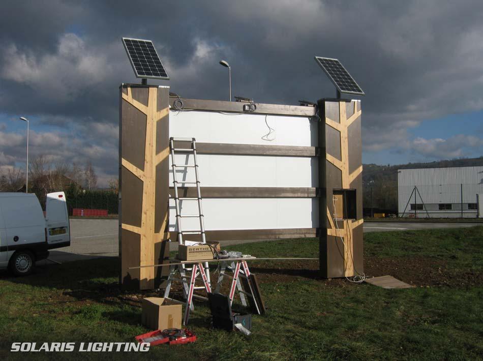 Réalisation d un kit solaire pour éclairer un panneau d affichage ... 06b160ec5b54